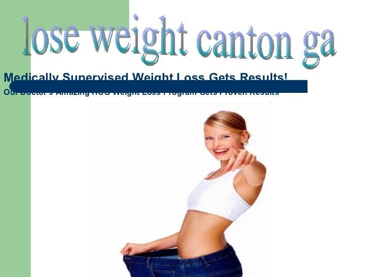 Lose Weight Canton Ga