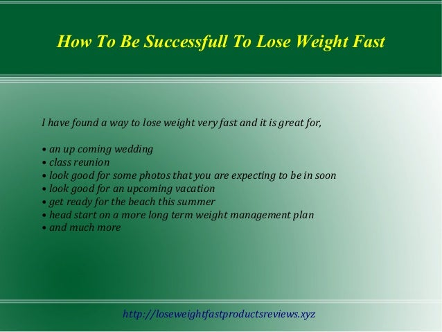 Healthy eating to lose weight fast