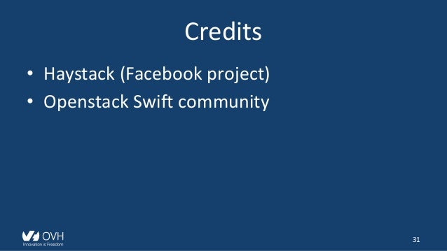 Openstack Swift - Lots of small files
