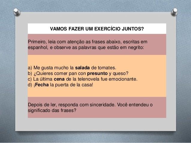 Los Falsos Amigos Portugués Y Español