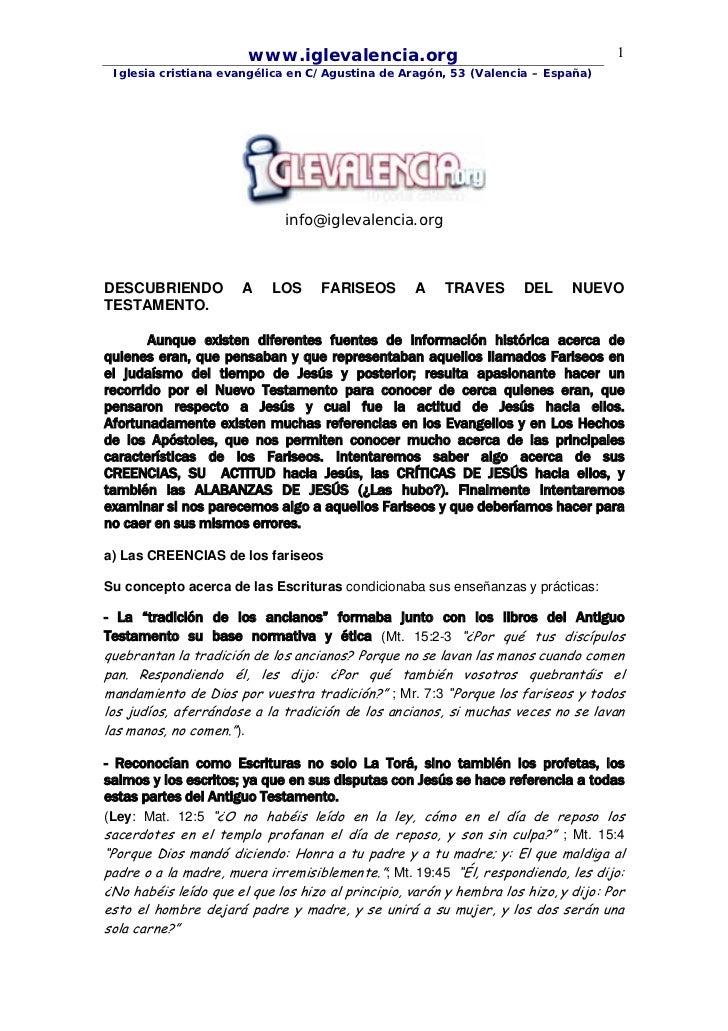 www.iglevalencia.org                                         1 Iglesia cristiana evangélica en C/Agustina de Aragón, 53 (V...