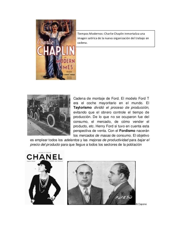 Tiempos Modernos: Charlie Chaplin inmortaliza una                             imagen satírica de la nueva organización del...