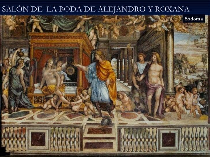 SALÓN DE  LA BODA DE ALEJANDRO Y ROXANA Sodoma