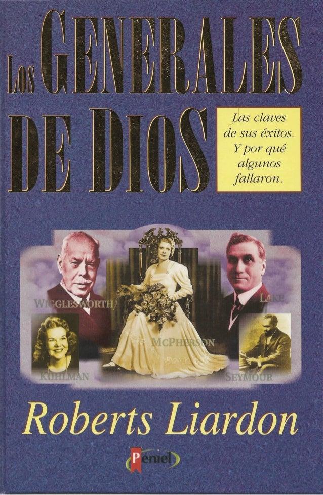 GENERALES DE DIOS LIBRO PDF DOWNLOAD