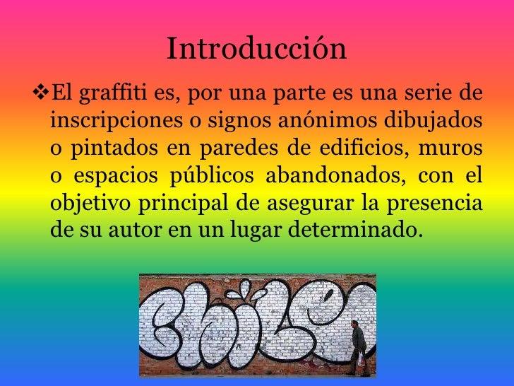 los graffitis en chilenombre criss gonzlezc u r s o m e d i