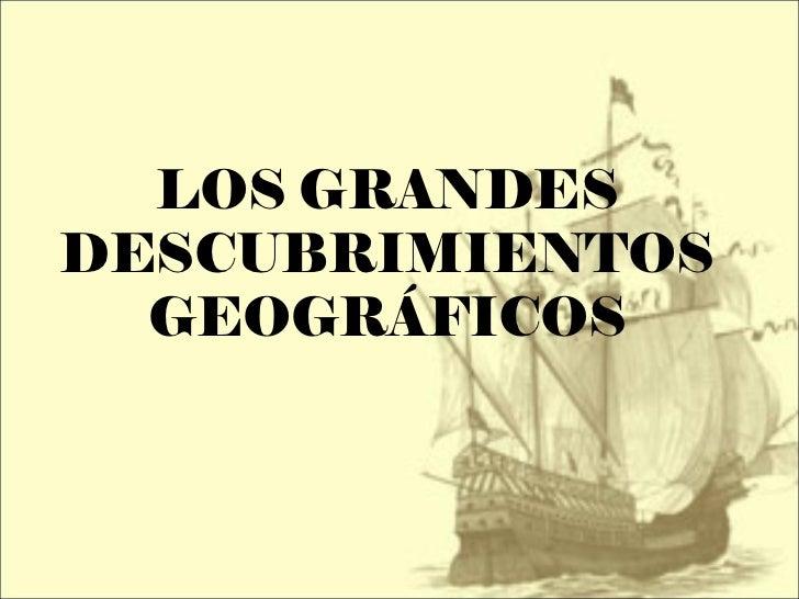 Resultado de imagen de los grandes descubrimientos geograficos