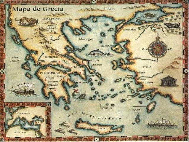 Parte III: Los griegos Slide 2