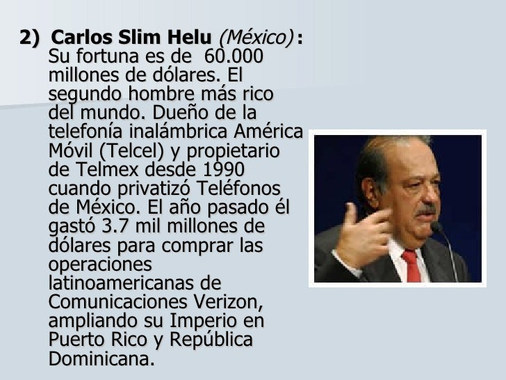 mas ricos de republica dominicana