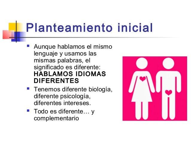 Los hombres son de Marte y las mujeres de Venus Slide 2