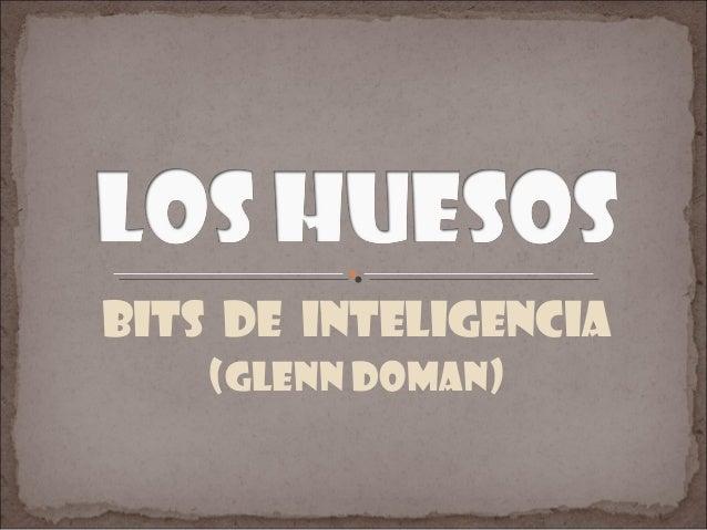 Bits de inteligencia (Glenn doman)
