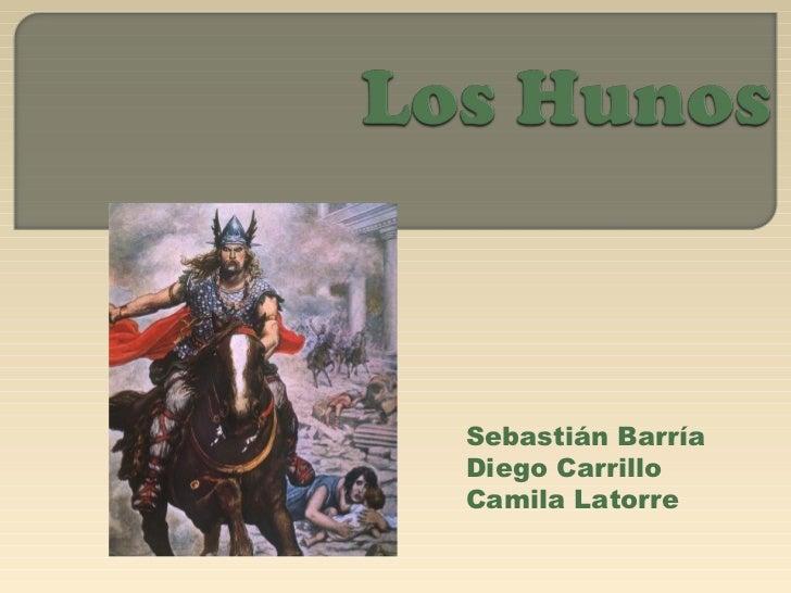 Sebastián BarríaDiego CarrilloCamila Latorre