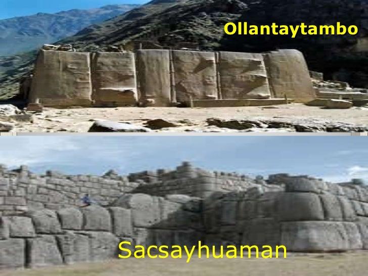 Los incas for Arquitectura militar