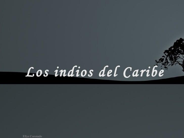 Los indios del Caribe