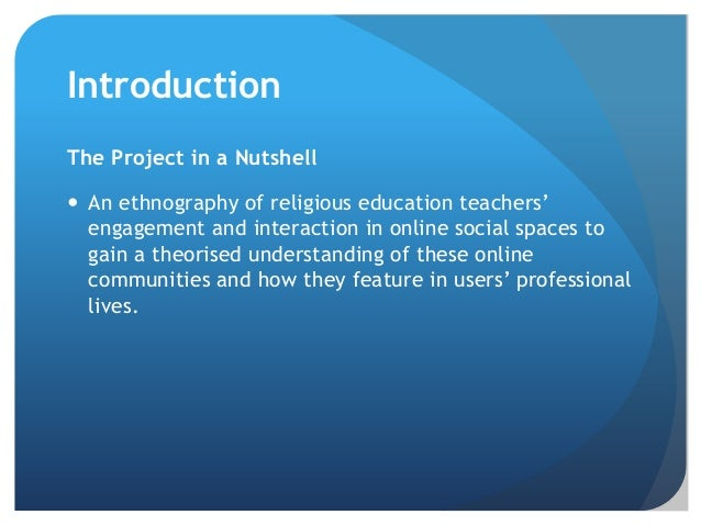 James Robson - Politics, Power, and Performance: An ethnography of religious education teachers' engagement in online social spaces Slide 2
