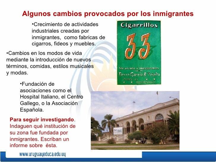 Los inmigrantes for Fabricas de muebles en montevideo uruguay