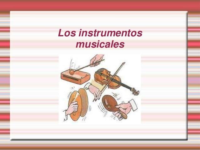 Los instrumentos - Instrumentos musicales leganes ...