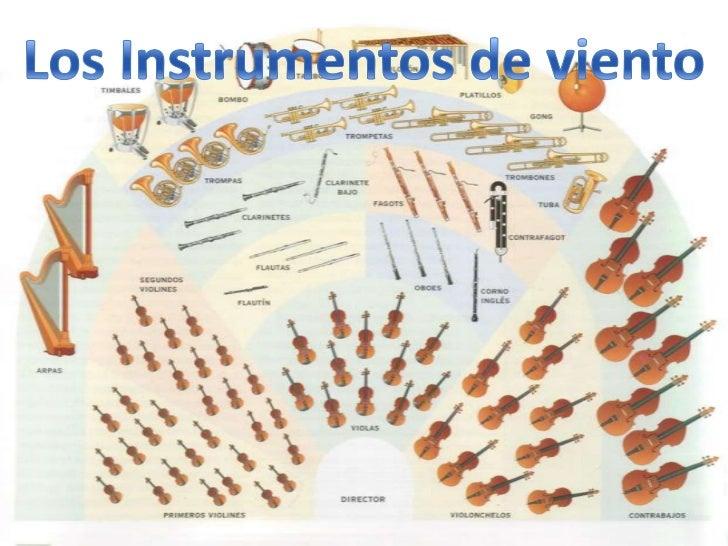 Los Instrumentos de viento<br />