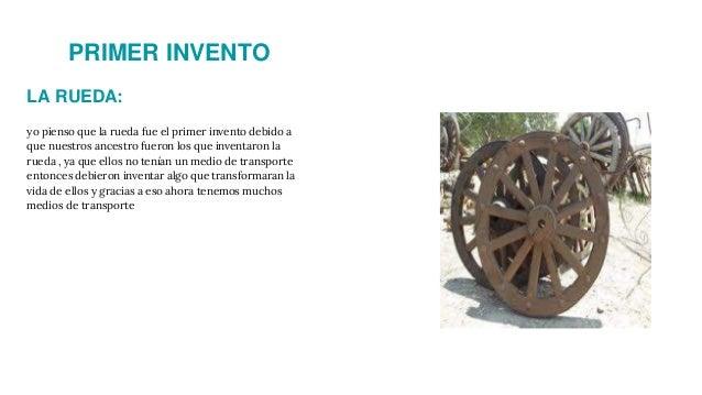 inventos tecnologicos la rueda