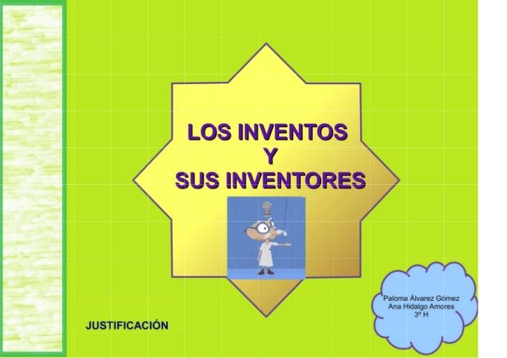 Los inventos y sus inventores