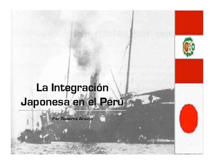 Contenidos •Condiciones del Perú a comienzos del siglo XX •Inmigración al Perú •Asimilación a la nueva cultura •Los Ni...