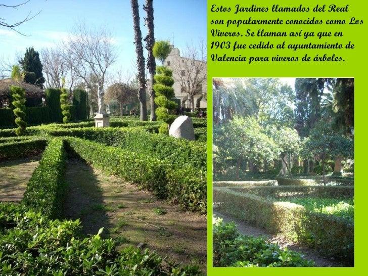 Los jardines del real for Jardines del real valencia