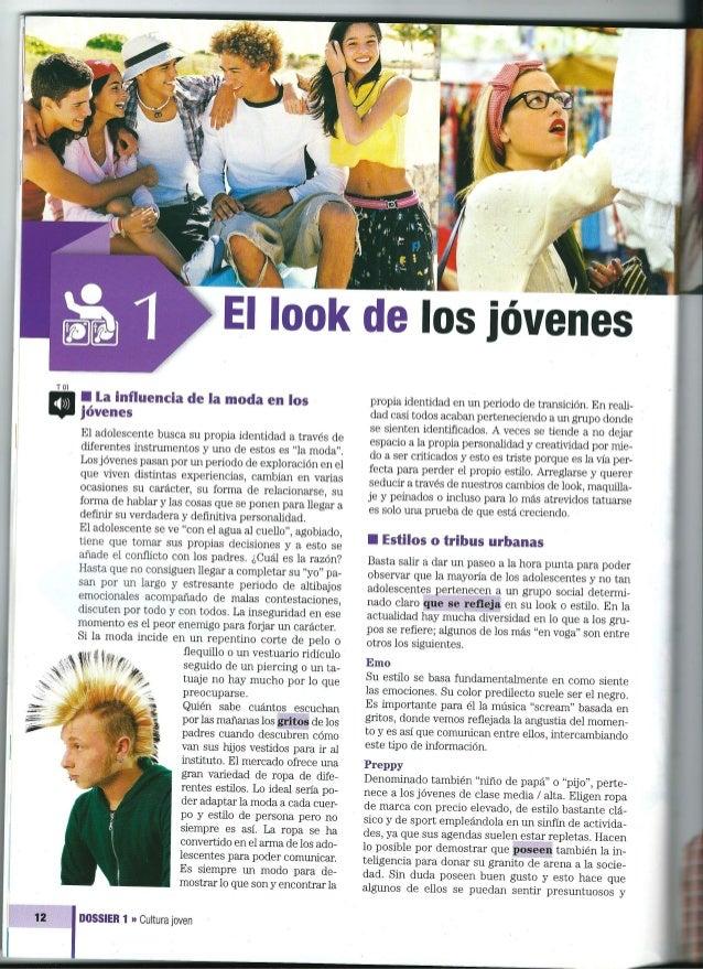 T01  12     I la influencia de la moda en los jóvenes  El adolescente busca su propia identidad a través de diferentes ins...