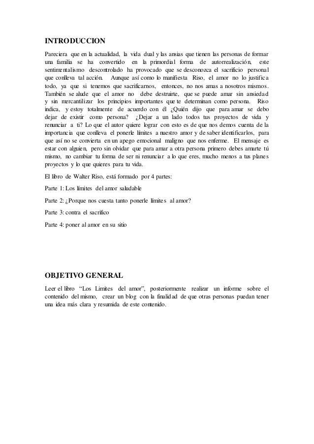 LIBRO LIMITED DEL AMOR PDF
