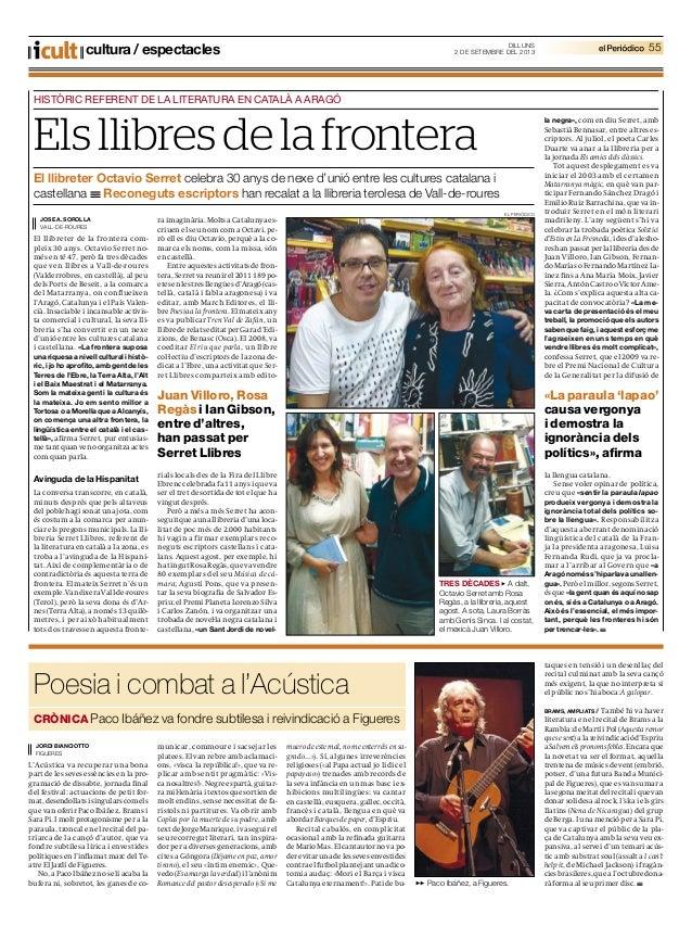 Poesia i combat a l'Acústica CRÒNICA Paco Ibáñez va fondre subtilesa i reivindicació a Figueres JORDI BIANCIOTTO FIGUERES ...