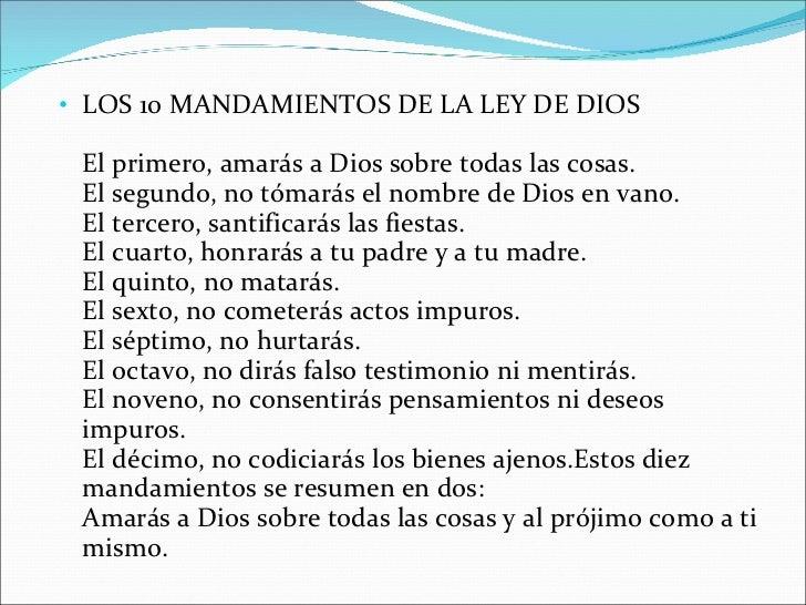 Los 10 mandamientos - Los 10 locos mandamientos ...