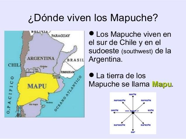 Los mapuche - Donde viven los acaros ...