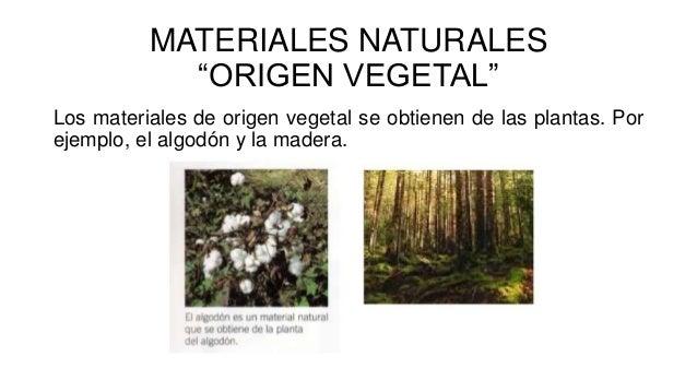 Los materiales naturales y elaborados for Materiales que forman el suelo