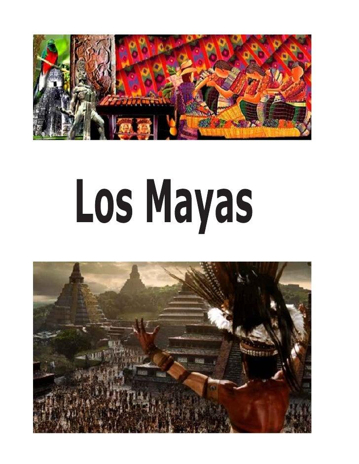 Ubicación geográfica   Los mayas vivieron en la península de Yucatán y en algunos territorios de América central; en  zona...