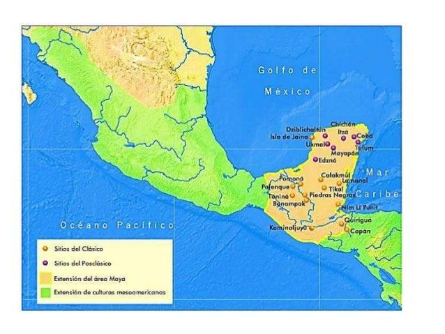 Ubicacion de los mayas for Cultura maya ubicacion