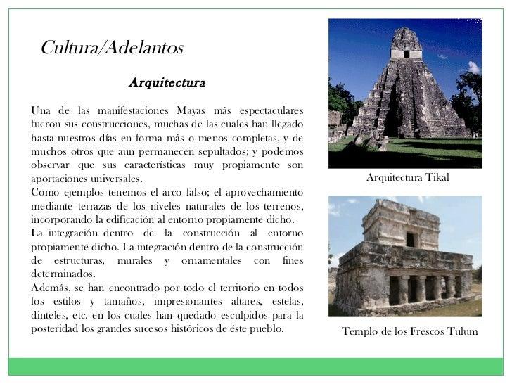 Los mayas 2011 historia for Arquitectura y arte de los mayas