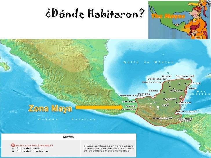 Los mayas mi presentacion for Cultura maya ubicacion