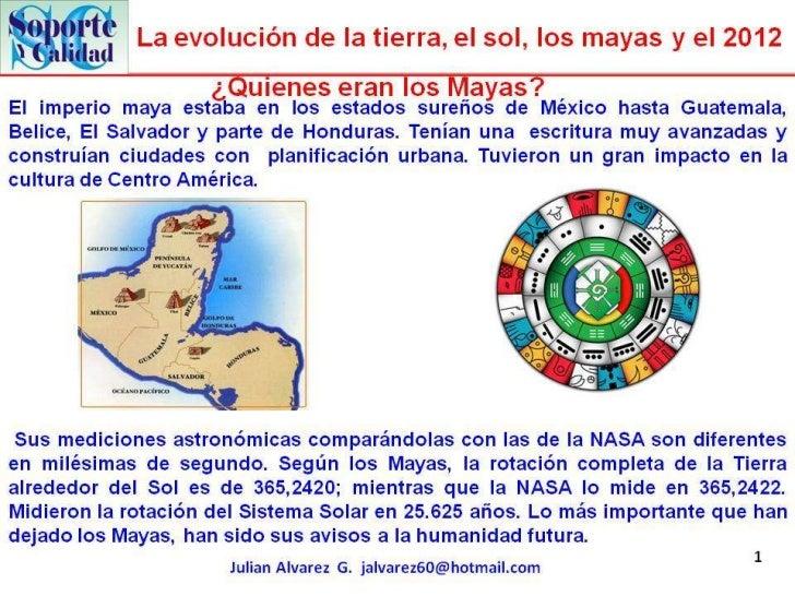 Los mayas y el 2012
