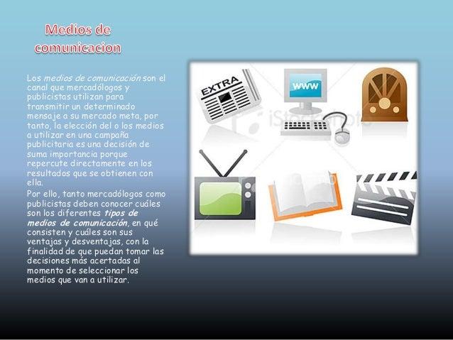 Los medios de comunicación Slide 2