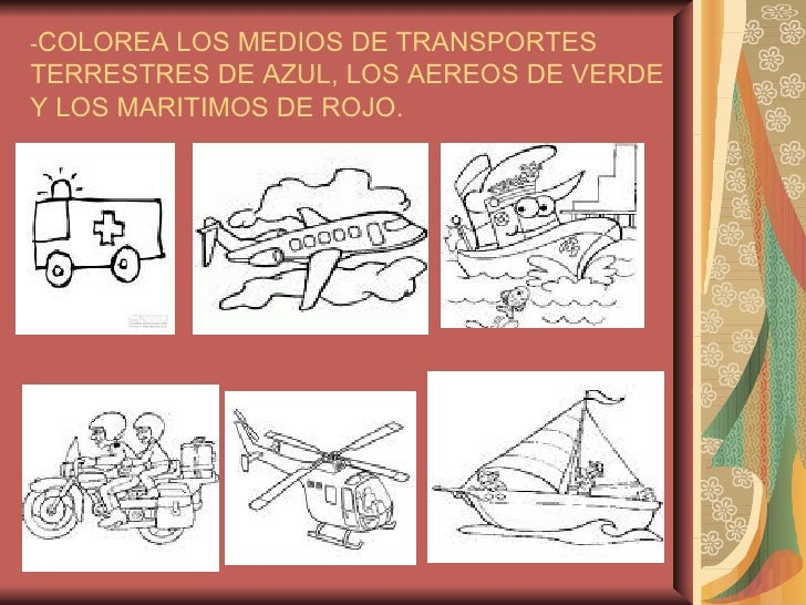 Los medios de transportes