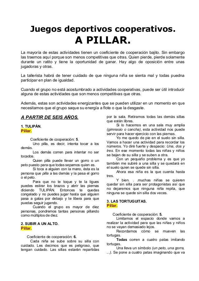 Busco amigos juego educacion fisica [PUNIQRANDLINE-(au-dating-names.txt) 50