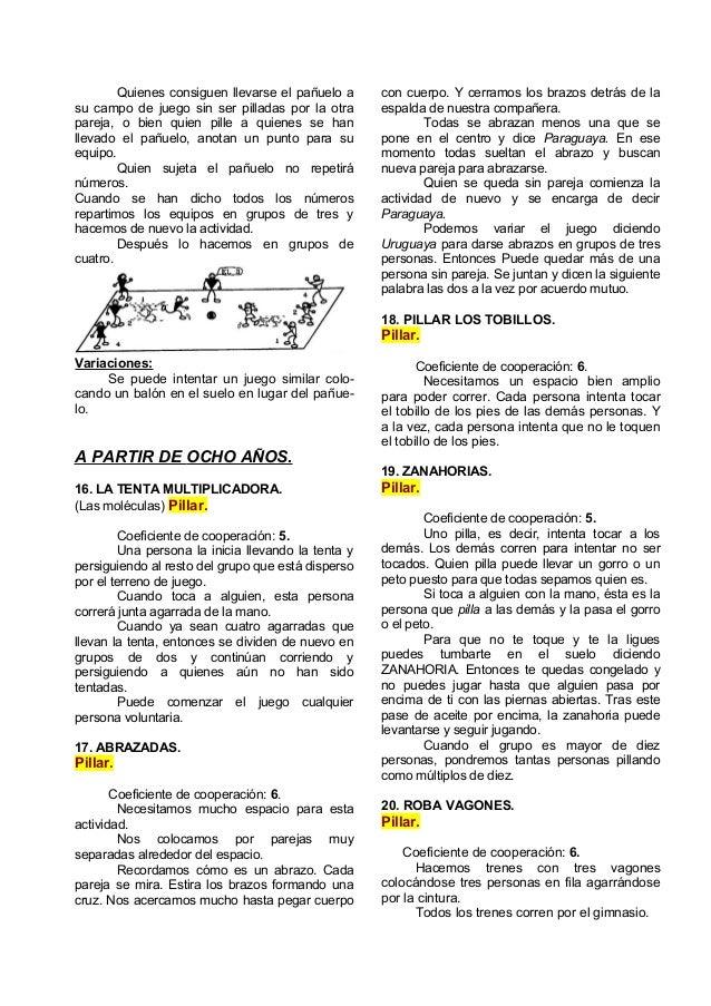 51 Juegos Deportivos Cooperativos Para Educacion Fisica