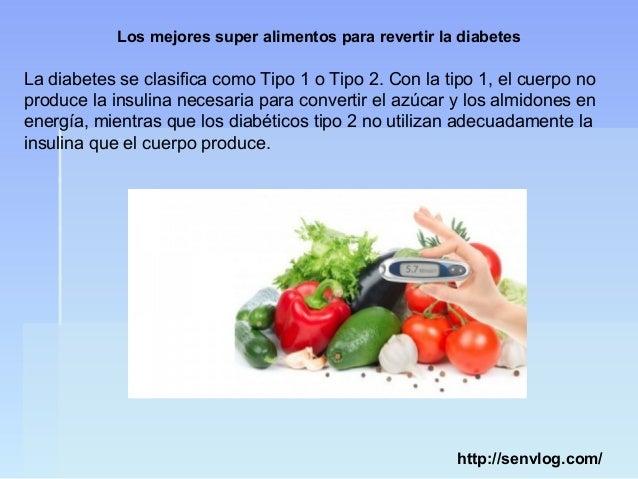 Los mejores super alimentos para revertir la diabetes