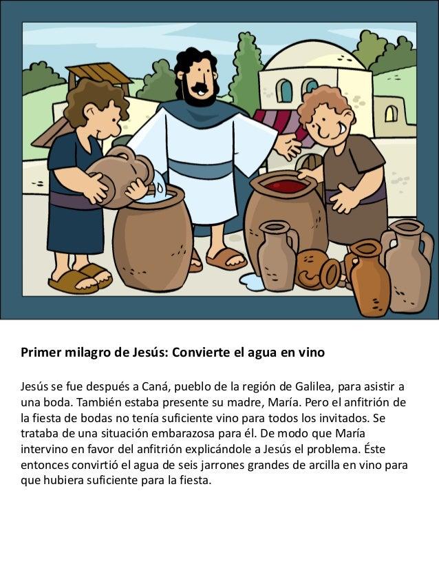 Los milagros de Jesús para niños Slide 2