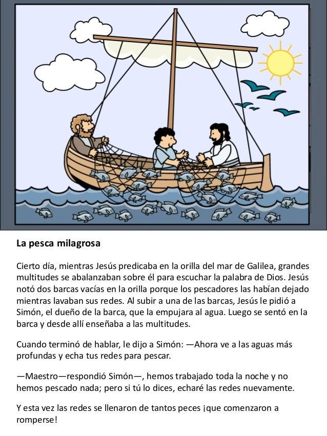 Los milagros de Jesús para niños Slide 3