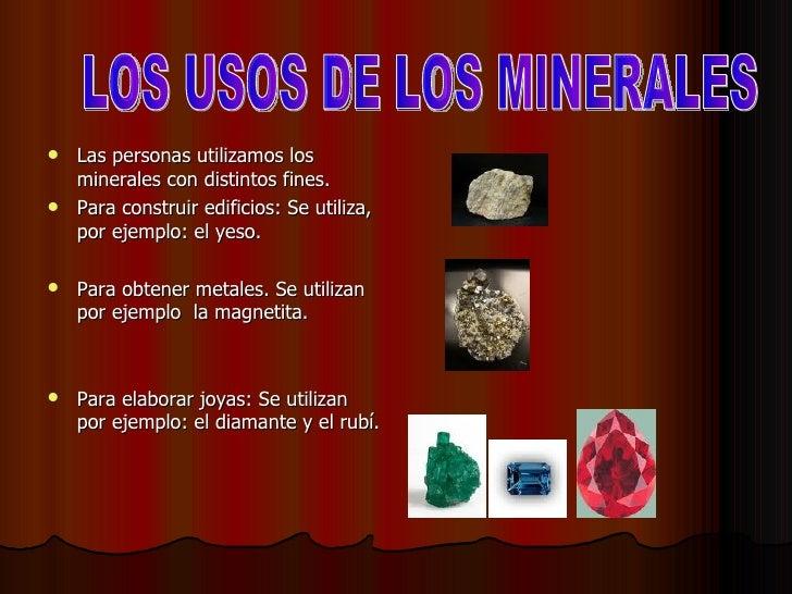 Las rocas los minerales y el suelo - Utilidades del yeso ...