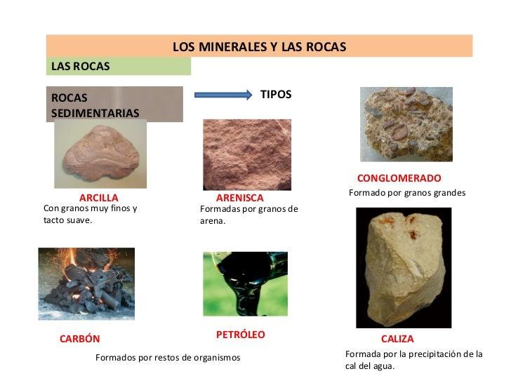 La materia los minerales y las rocas for Nombre de la roca