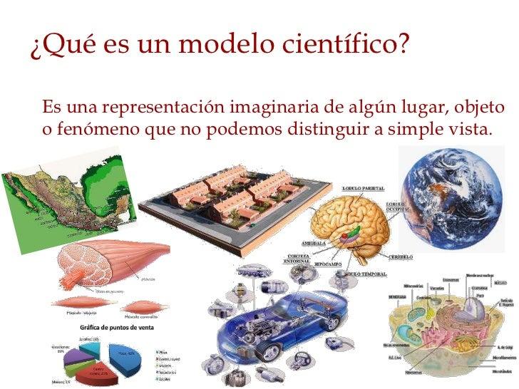 Resultado de imagen de Modelo científico