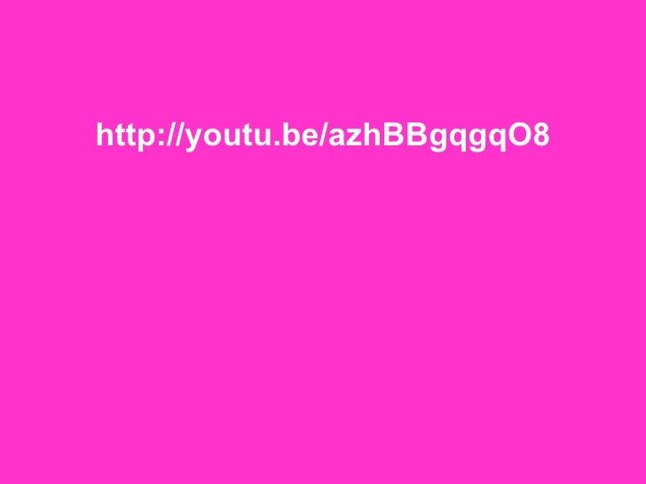 <ul><li>http://youtu.be/azhBBgqgqO8 </li></ul>