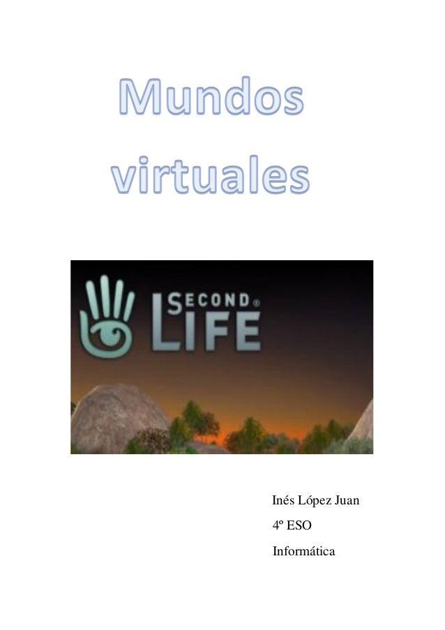 Inés López Juan 4º ESO Informática