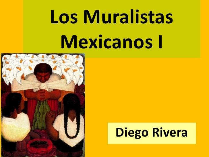 Los Muralistas Mexicanos I       Diego Rivera