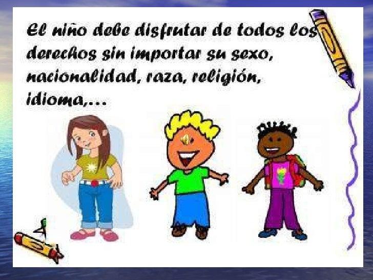Los Niños Y Niñas Tienen Derechos Slide 2